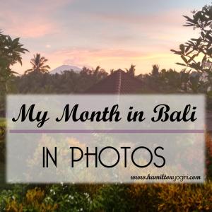 Bali Month